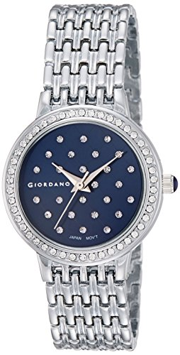 Giordano Analog Blue Dial Women's Watch - F0001-04