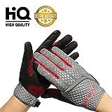 Lange Fitness Handschuhe Ultraleichte Trainingshandschuhe leder Radhandschuhe mit verstellbarer Handgelenkstütze und sicherem Gel-Insert Gewichtheben trainieren sporthandschuhe für damen herren