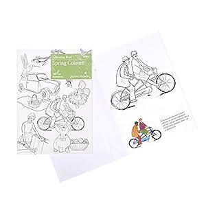 Colori Primaverili Libro da Colorare: Attività Artistica e Prodotti Specifici per le Persone Affette da Demenza/Alzheimer