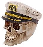 Produkt-Bild: Totenkopf Skull mit Kapitänsmütze