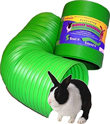 Snuggle Safe All Weather Flexible Bunny Warren Fun Tunnel by Snuggle Safe