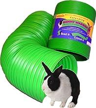 SnuggleSafe All Weather Flexible Warren de Conejo divertido túnel