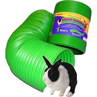 Snugglesafe All Weather Flexible Bunny Warren Fun Tunnel, green 6