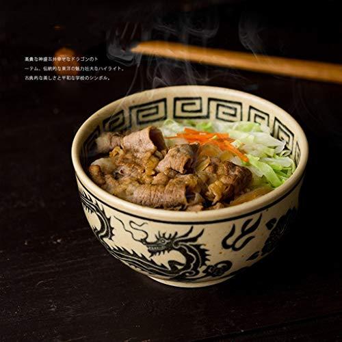 Cuencos de mezcla de servicio multifunción Cocina Comedor Cuencos Cuenco de ramen Cuenco grande Japón Cuenco de dragón y fénix importado Cuenco de arroz de pasta Cuenco de cubiertos de restaurante jap