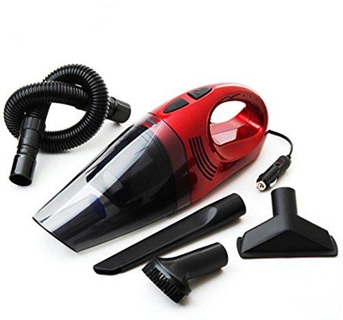 BMDHA Auto-Staubsauger Portable High Power Multifunktions Nass Und Trocken Mit (Mehrere Saugen Kopf) , Red -