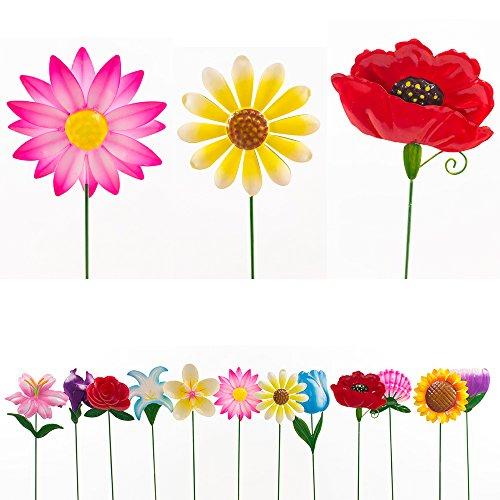 Good Exhart   Flower Garden Stakes   Pack Of 12
