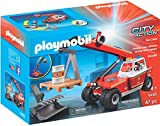 PLAYMOBIL 9465 Spielzeug-Feuerwehr-Teleskoplader