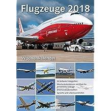 Wochenkalender Flugzeuge 2018
