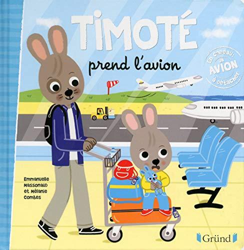 Timoté prend l'avion par Emmanuelle MASSONAUD