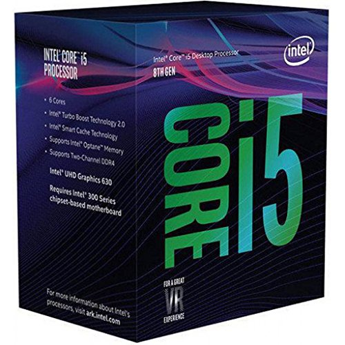 Intel Core i5-8600K - Procesador up to 4.30 GHz