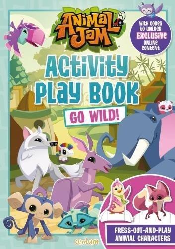 Animal Jam Activity Play Book Go Wild