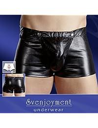 Svenjoyment 21315011730 Lederimitat Herren Pants XL