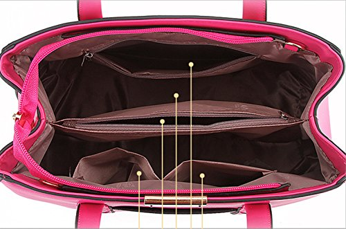 Keshi Pu neuer Stil Damen Handtaschen, Hobo-Bags, Schultertaschen, Beutel, Beuteltaschen, Trend-Bags, Velours, Veloursleder, Wildleder, Tasche Himmelblau