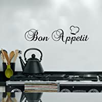 Bon Appetit for Kitchen Dining vinyl Decal Wall Sticker home Longue decor Mural