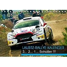 Lausitz-Rallye Kalender (Tischkalender 2018 DIN A5 quer): Das internationale Fahrerfeld der Lausitzrallye 2017 (Monatskalender, 14 Seiten ) (CALVENDO Sport)