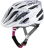 Alpina FB JR. 2.0 Flash Kinder Fahrradhelm - White Floral, Kopfumfang:50-55 cm