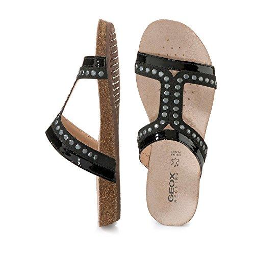 Sandali e infradito per le donne, color Nero , marca GEOX, modelo Sandali E Infradito Per Le Donne GEOX D VINCA B Nero Nero (nero)