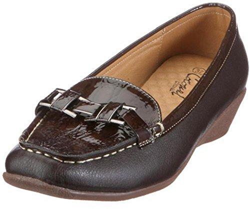 Coconel 229500.211 Schuhe Keil Slipper Braun