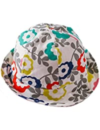EOZY Chapeau pour Pêche/Plage Chapeau Soleil Anti-UV Blanc pour Bébé/Fille Petit