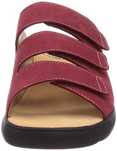 Ganter Selina, Weite F, Mules Femme Rouge (Rouge-TR-B2-68)