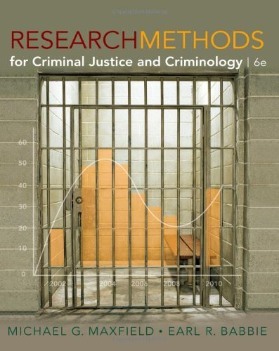 Research Methods for Criminal Justice and Criminology by Maxfield, Michael G., Babbie, Earl R. (2010) Hardcover