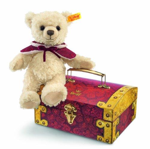 Steiff 109966 - Teddybär Clara in Schatztruhe, 23 cm, blond