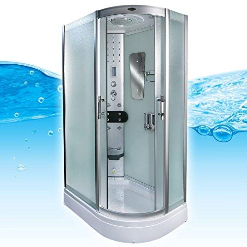 AcquaVapore DTP8060-7013R Dusche Dampfdusche Duschtempel Duschkabine -Th. 80x120, EasyClean Versiegelung der Scheiben:2K Scheiben Versiegelung +89.-EUR