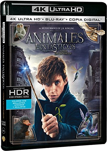 Animales Fantásticos Y Dónde Encontrarlos (4K Ultra HD + Blu-ray + Copia Digital) [Blu-ray]