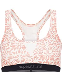 Supernatural super. natural W Semplice Women Bra 260Printed Merino Top