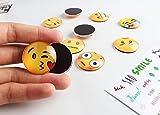 EMOJI DIVERTENTI Magneti da frigorifero, magneti da frigorifero Pacco da 13 pezzi con decorazioni da ufficio divertente