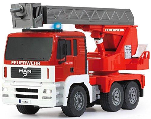 RC LKW kaufen LKW Bild 1: RC MAN Feuerwehr 27MHz ferngesteuert - Motorsound, Hupe, Licht INKL. BATTERIEN - komplett Set*