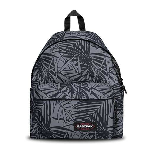 Eastpak Padded Pak'R Mochila, 40 cm, 24 L, Negro (Leaves Black)