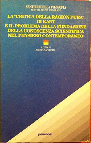 Mauro Sacchetto - Critica della Ragion Pura