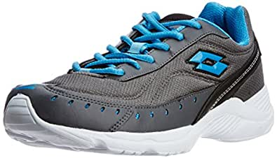 LOTTO MEN Rapid Grey/TBlue RUNNING Shoes 10 UK/India