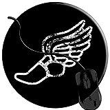 QCFW Tapis de Souris Athlétisme Course à Pied Sport Mousepad Tapis de Souris Gaming Base en Caoutchouc Antidérapante,Résistant à Usure 2T2819...