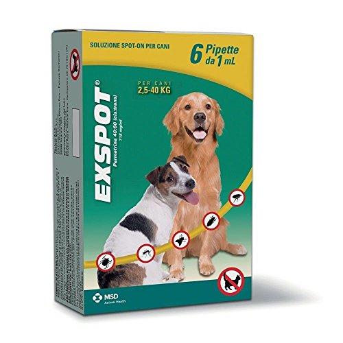 exspot-antiparassitario-per-cani-da-25-kg-a-40-kg-6-pipette-antipulci-antizecche-repelle-zanzare-mos