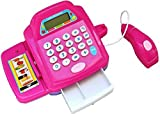 #2: ACME TOY-Battery Operated Toy Cash Register Set + Scanner + Calculator for Kids Ages 3+ Years