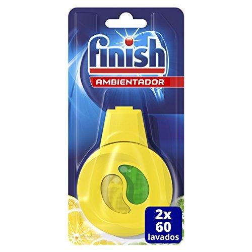 Finish Ambientador para Lavavajillas Limón - 60 lavados duplo (120 lavados)