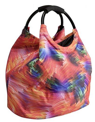 Betz Borsa per la spesa borsa da spiaggia borsa RIO misure 40x42cm diversi colori Verde