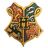 #9: Harry Potter Houses Of Hogwarts Applique Embroidered Sew Iron On Patch