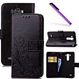 Best Lg G3 Cases - COTDINFOR LG G3 Coque Housse Lucky Clover Fille Review