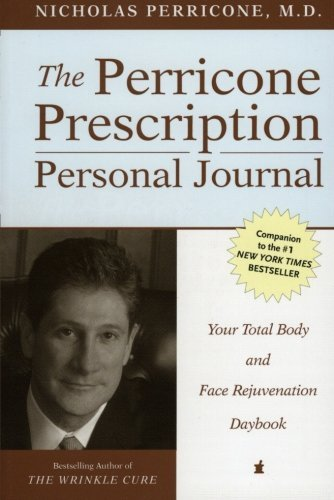 The Perricone Prescription Personal Journal: Your Total Body and Face Rejuvenation Daybook by Nicholas, M.D. Perricone (2002-12-24)