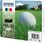 Epson Multipack 4-farbig 34 Golfball DURABrite Ultra Ink