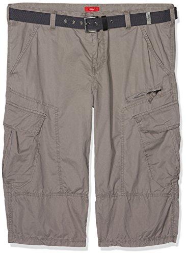 s.Oliver Big Size Herren Shorts Grau (Steel 9405)