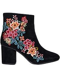 Monsoon Bottes brodées Elsa - Femme - Chaussures 42