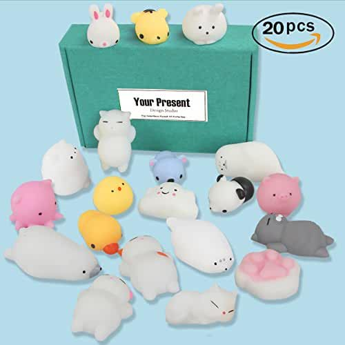 mini kawaii miniaturas kawaii Design Studio - Mini Suave Squishies, 20 piezas