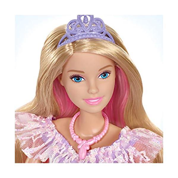 Barbie Dreamtopia Principessa Gran Galà Bambola con Accessori, Giocattolo per Bambini 3+ Anni, GFR45 2 spesavip