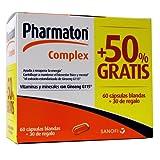 Pharmaton complex, 60capsulas + 30 de REGALO