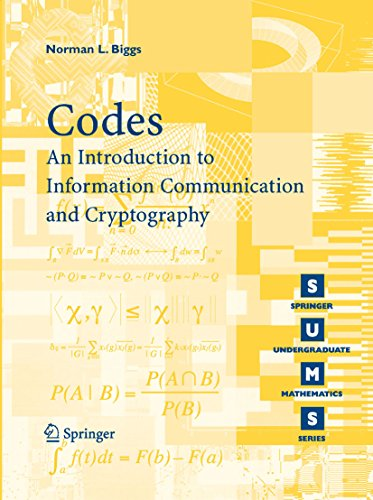 Codes: An Introduction to Information Communication and Cryptography (Springer Undergraduate Mathematics Series) (English Edition)