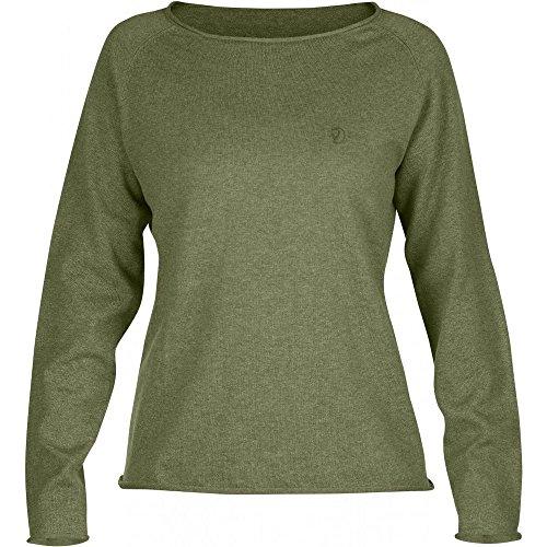 Fjällräven Damen Övik Sweater W Pullover, Green, S